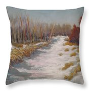 Northern Alberta Vista Throw Pillow