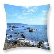 Northern California Coast3 Throw Pillow
