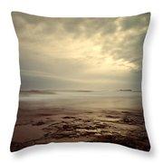 Northumberland Coast Throw Pillow
