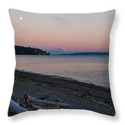 Northwest Evening Throw Pillow