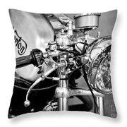 Norton Dominator Throw Pillow