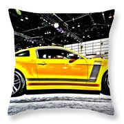 Not A Cowardly Boss Throw Pillow