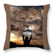Not All Who Say Lord Lord Throw Pillow