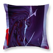 Not From This World Throw Pillow