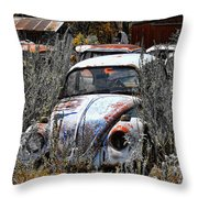 Not Herbie The Love Bug Throw Pillow