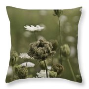 Not Just A Weed Throw Pillow