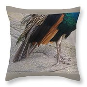 Her Kind Of Beauty Throw Pillow