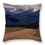'nother Road Throw Pillow