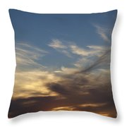 Nothing But Sky Throw Pillow