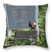 Nothing To Crow About Throw Pillow