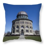 Nott Memorial Building At Union College Throw Pillow