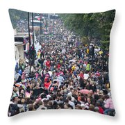 Notting Hill Carnival Throw Pillow