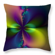 November Bloom Throw Pillow
