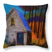 November Sunset Throw Pillow
