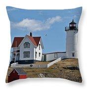 Nubble Light IIi Throw Pillow