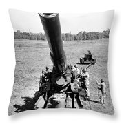 Nuclear Artillery, 1952 Throw Pillow