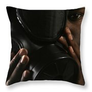 Nuclear, Biological, And Chemical Throw Pillow by Stocktrek Images