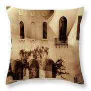 Nude House Throw Pillow