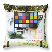 Number 9 Throw Pillow