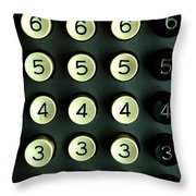 Numbers Game Throw Pillow