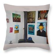 Nut House 2 Throw Pillow