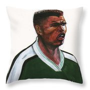 Nwanko Kanu Throw Pillow