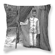 Nyasaland: Consular Staff Throw Pillow