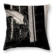Nyc Landmark Throw Pillow