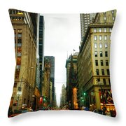 Nyc013 Throw Pillow