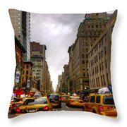 Nyc014 Throw Pillow