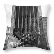 Nyc082a Throw Pillow