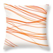 Nylon Fibers Throw Pillow
