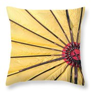 Nylon Sun Rays Throw Pillow