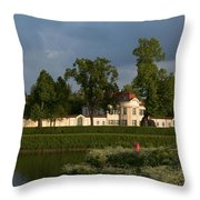 Nymphenburg Palace Buildings Throw Pillow