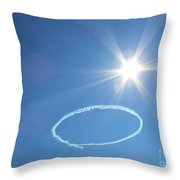O Is For Oshkosh. Under The Sun. Throw Pillow