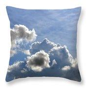 O Spacious Skies Throw Pillow
