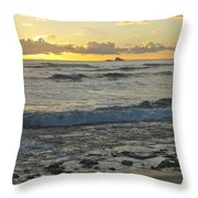 Oahu Morning 6835 Throw Pillow