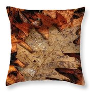 Oak Leaf 1 Throw Pillow