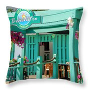 Oak Street Beachstro Throw Pillow