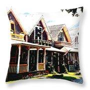 Oaks Bluff Martha's Vineyard Throw Pillow
