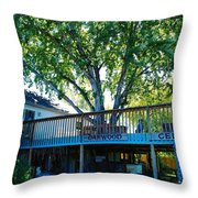 Oakwood Cellers Throw Pillow