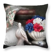 Objects In Still Life Throw Pillow