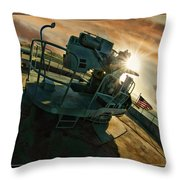 O'brien Gun Throw Pillow