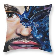 Obstruction Throw Pillow