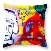 Occupy Einstein Throw Pillow