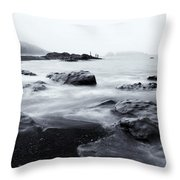 Ocean Alive Throw Pillow