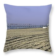 Ocean City Nj The Old Pier Throw Pillow