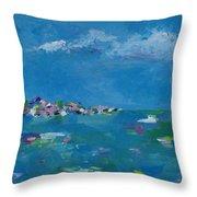 Ocean Delight Throw Pillow