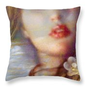 Ocean Pearls Throw Pillow