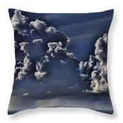 Ocean Rains Throw Pillow